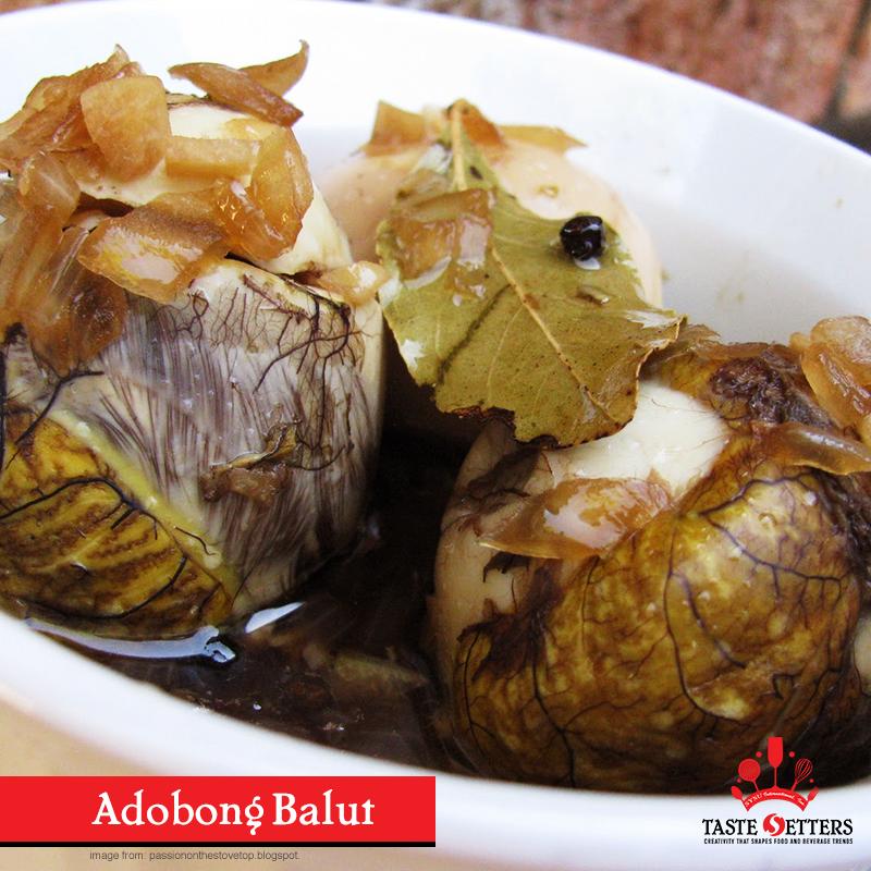 Adobong Balut