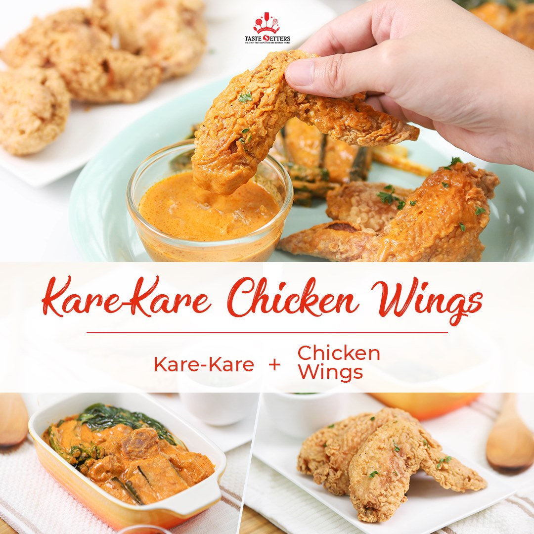 Kare-kare Chicken Wings