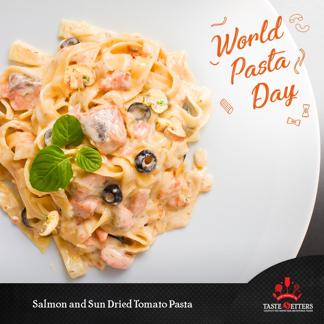 Salmon and Sun-dried Tomato Pasta