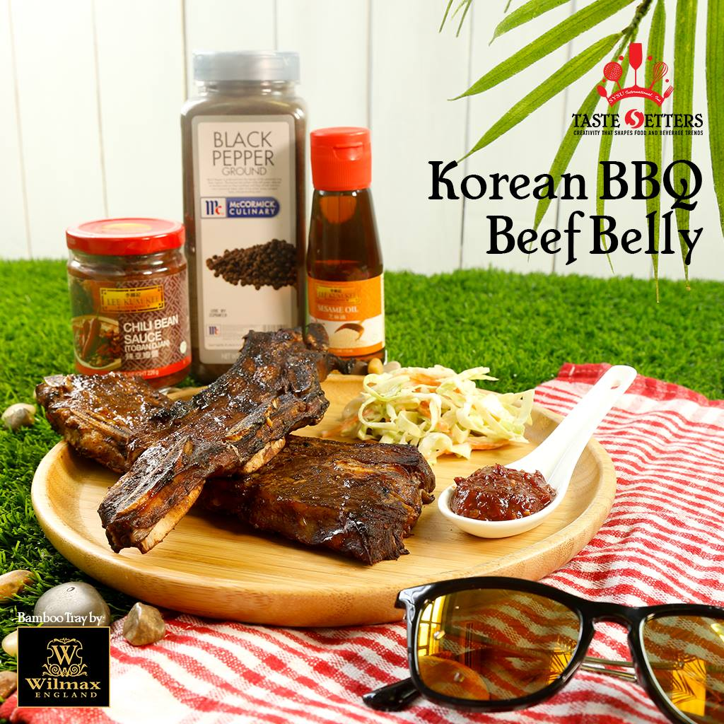 Korean BBQ Beef Belly