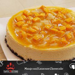 Mango and Lanzones Cheesecake