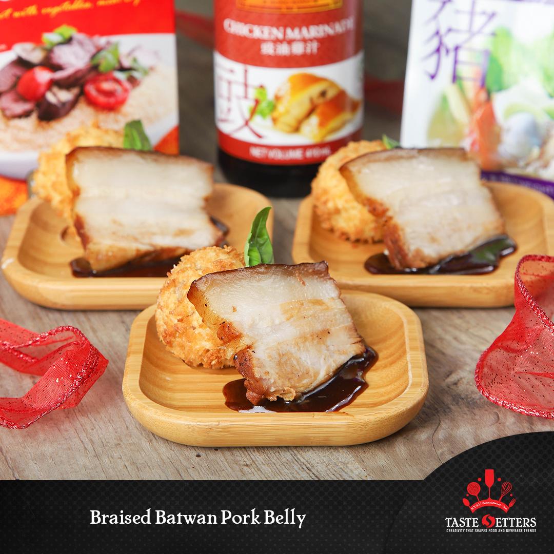Braised Batwan Pork Belly
