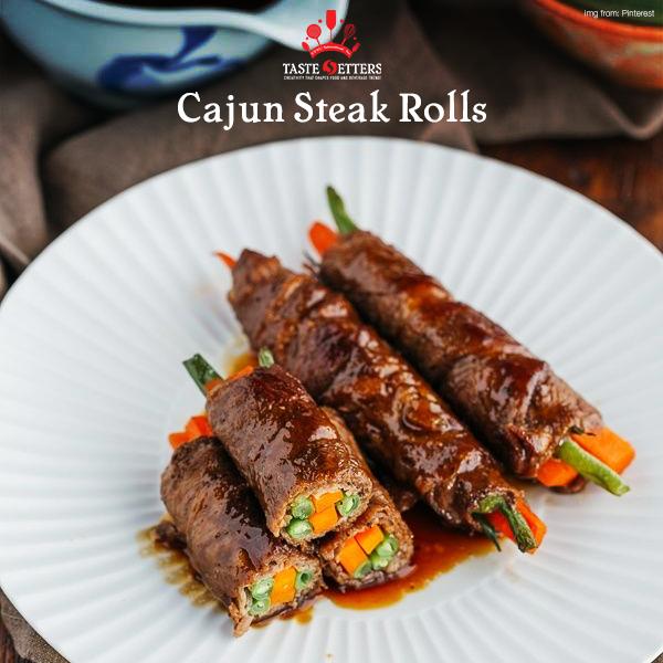 Cajun Steak Rolls