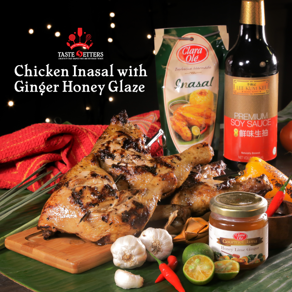 Chicken Inasal with Ginger Honey Glaze