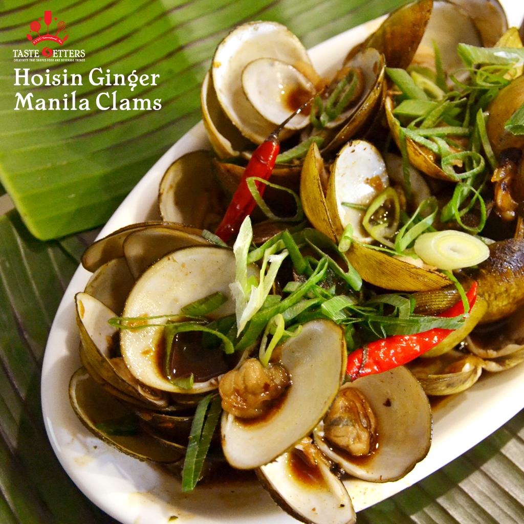 Hoisin Ginger Manila Clams