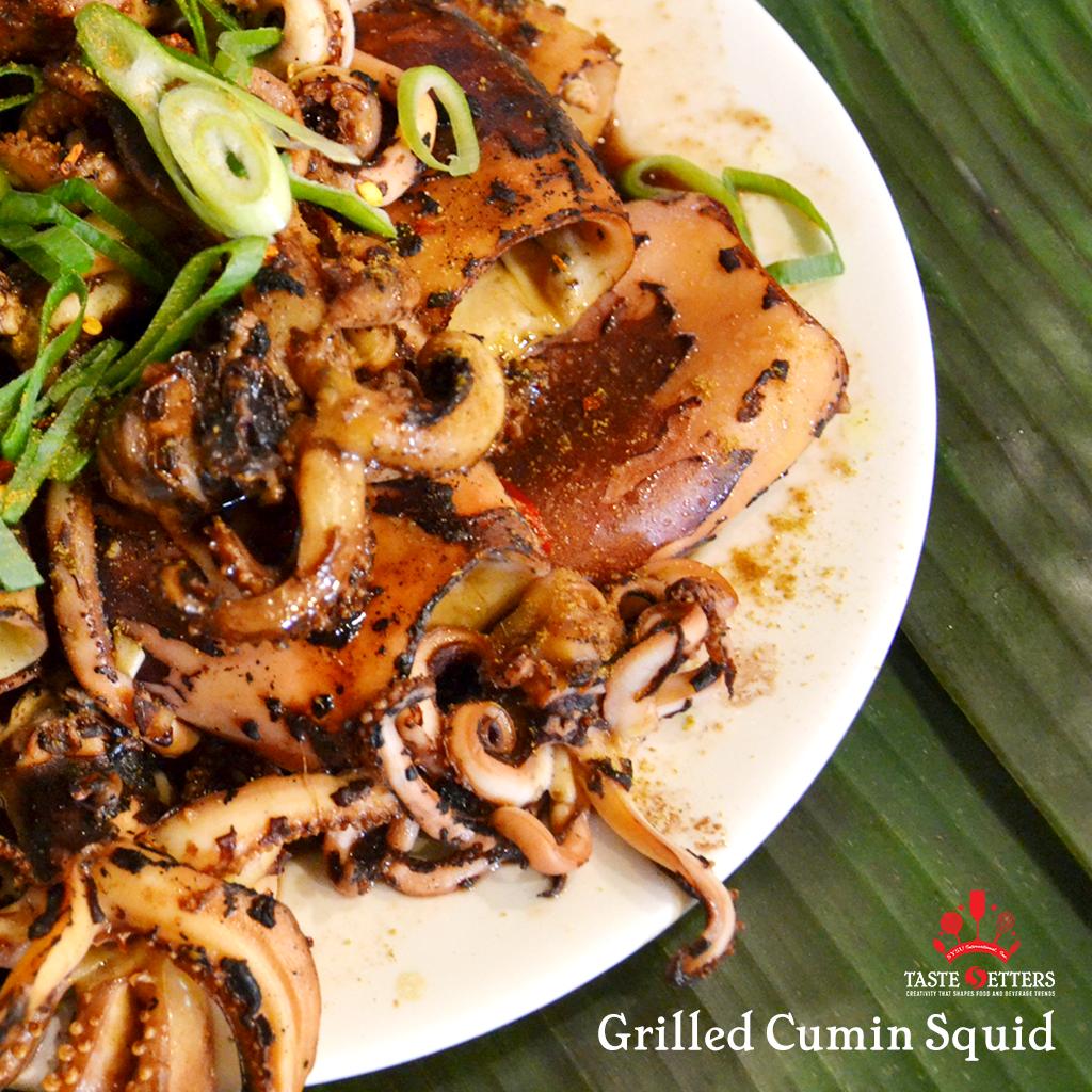 Grilled Cumin Squid