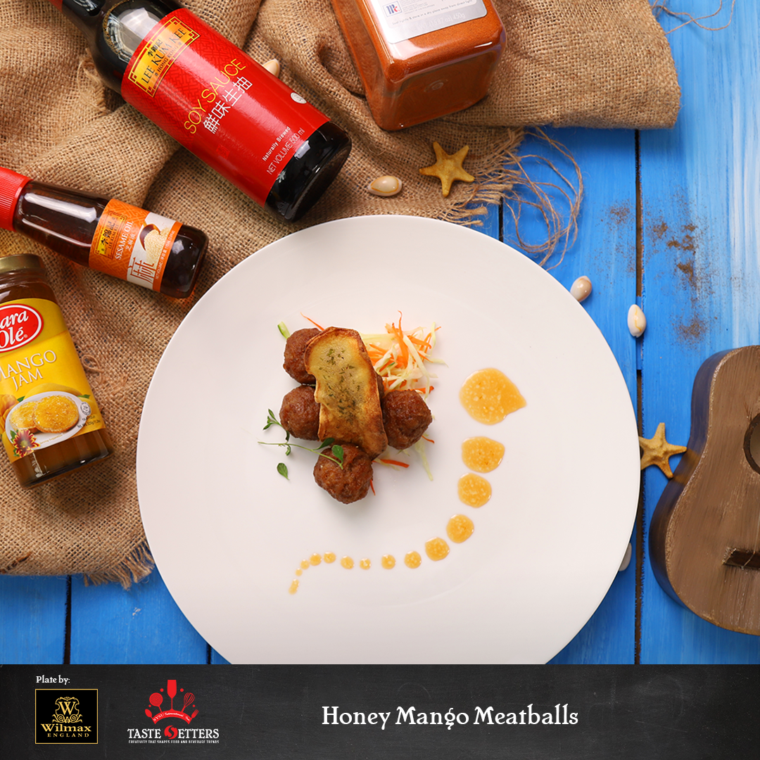Honey Mango Meatballs