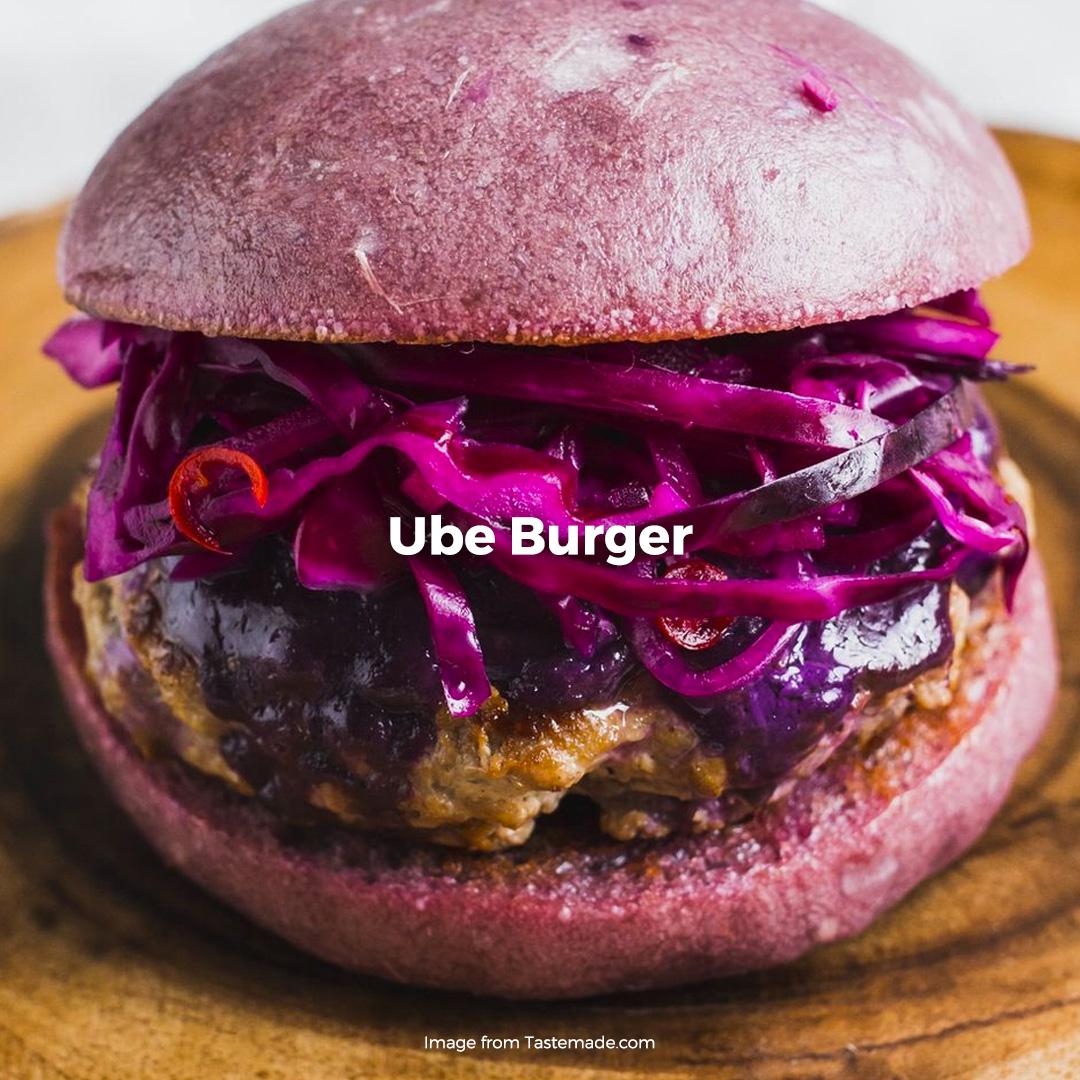 Ube Burger