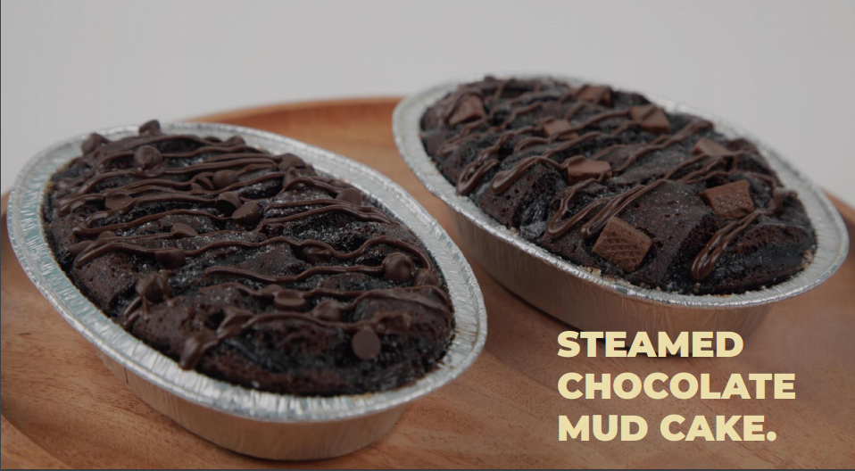 Steamed Chocolate Mud Cake