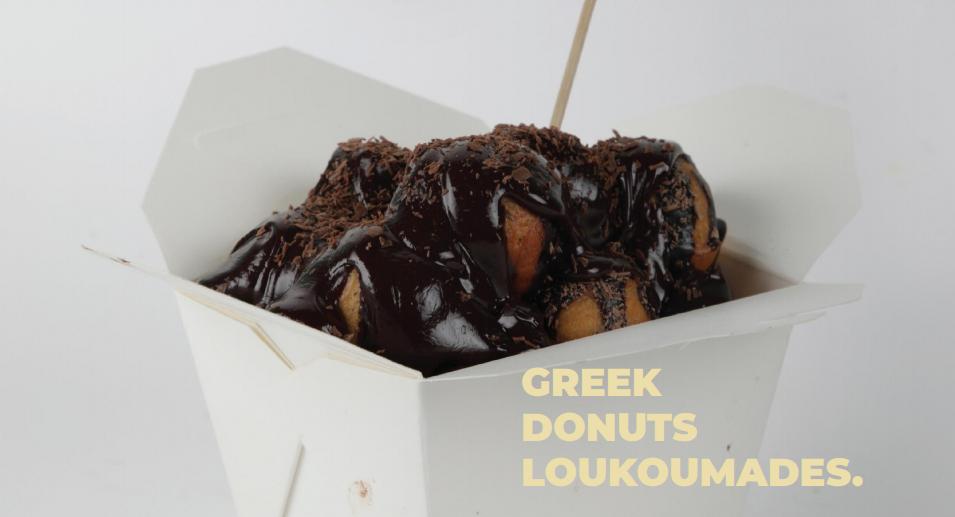 Greek Donuts Loukoumades